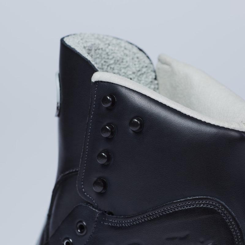 SP-Teri Mens KT Figure Skating Boots Rolled Top